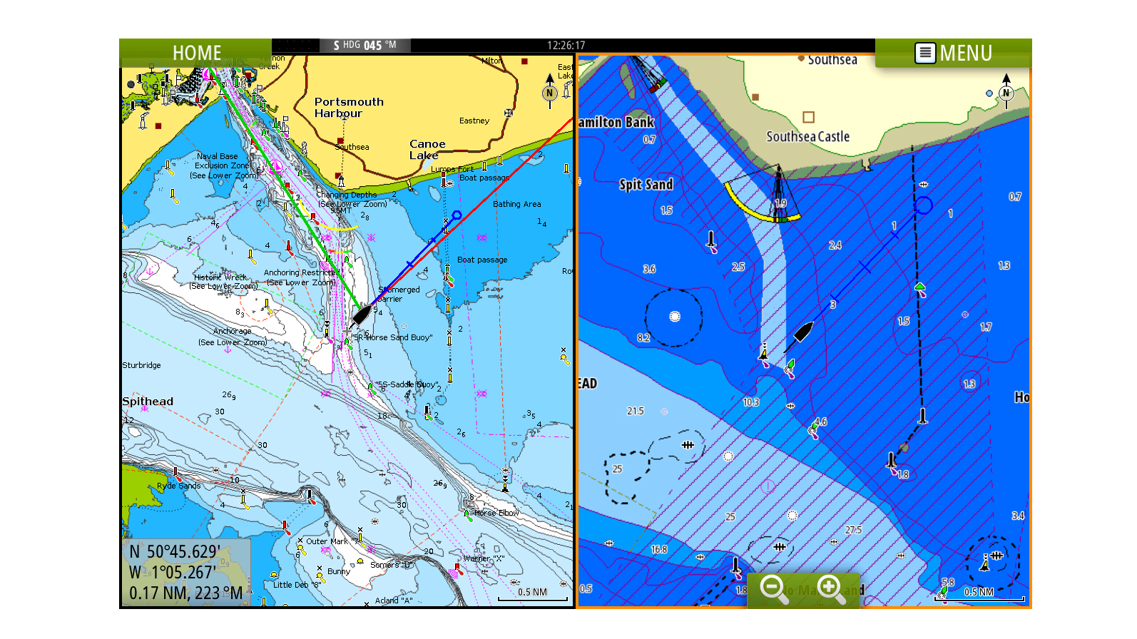 Cartography | B&G Sailing Electronics