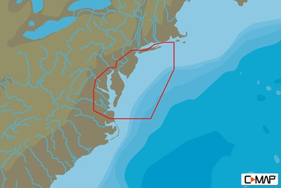 C-MAP MAX-N+ L: BLOCK ISLAND TO NORFOLK