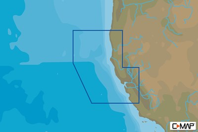 C-MAP (Max-N+): Point Sur to Cape Blanco