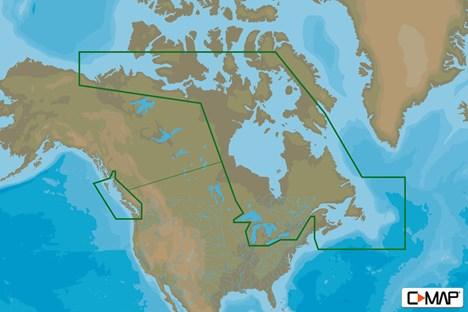 C-MAP MAX-N C: CANADA CONTINENTAL | B&G Sailing NZ