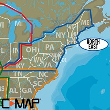 C-MAP (Lake Insight HD): North East US