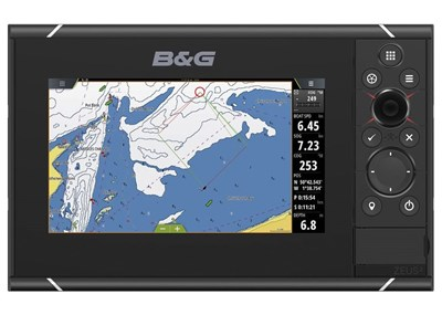 B&G Zeus³ 7 chartplotter with C-MAP cartography